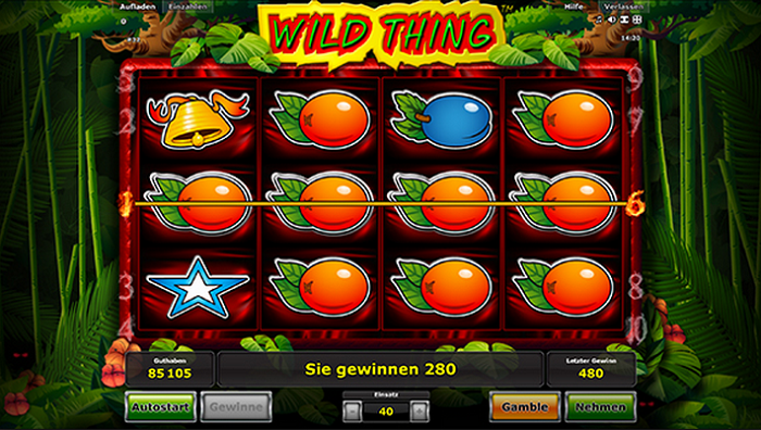 Stargames Wild Thing