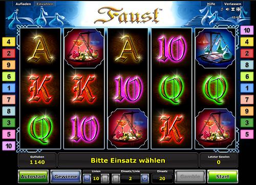 Faust Novoline Slot