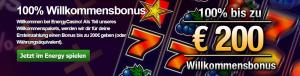 Bonus Energy Casino