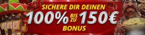 LV Bet 150 € Willkommens Bonus