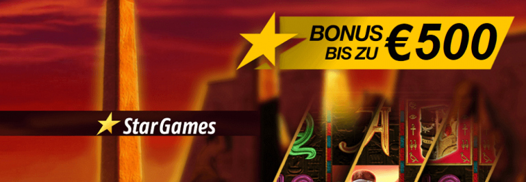 Stargames Bonus Code 2017